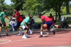 Basketball Tournament on Hayes Drive