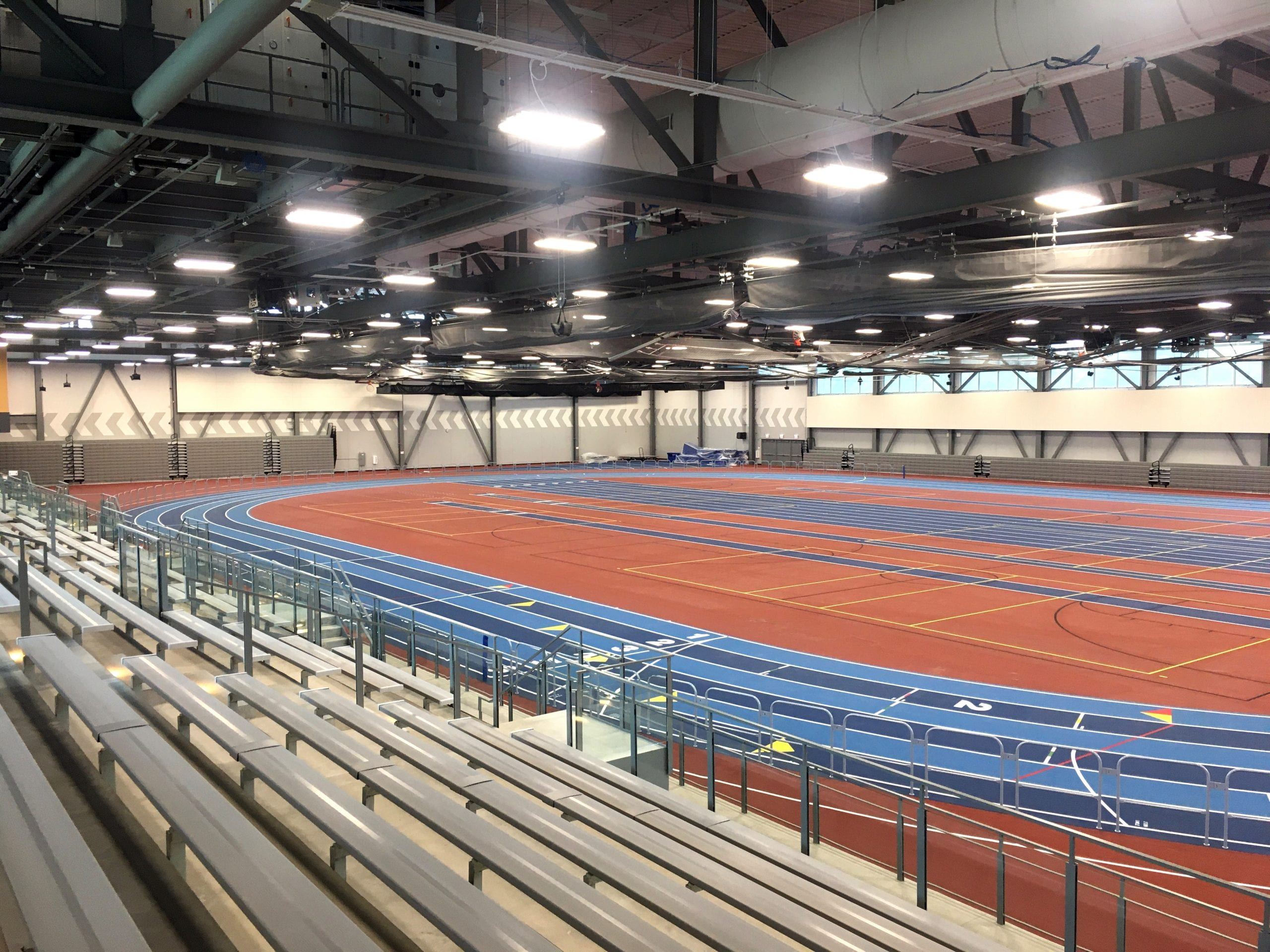 Gately Track and Field Interior