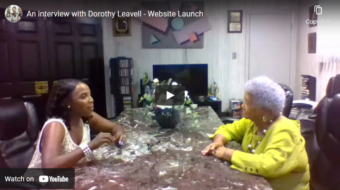 An interview with Dorothy Leavell – Website Launch