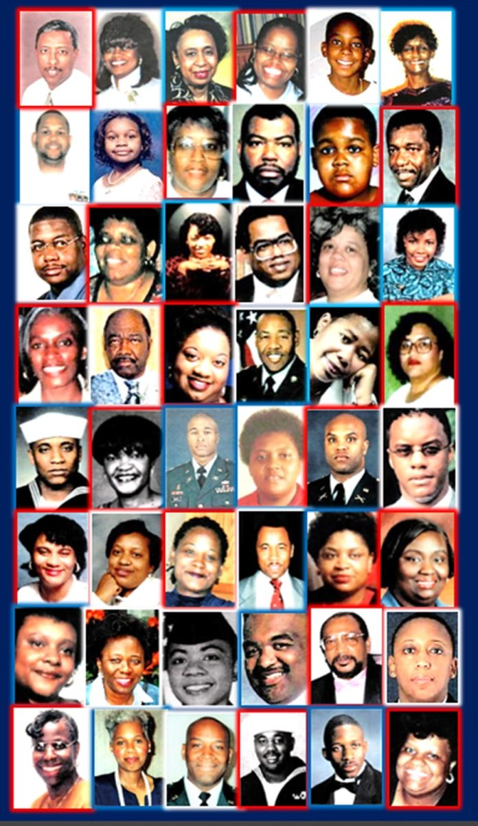 SEPT. 11 VICTIMS OF AMERICAN AIRLINES FLIGHT 77-1